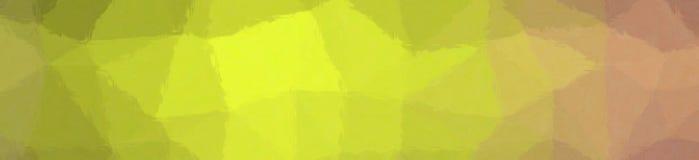 Illustration de mosaïque en pastel jaune citron et pourpre par le fond de bannière de briques en verre illustration stock