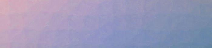 Illustration de mosaïque en pastel rouge et bleue par le fond de bannière de briques en verre illustration libre de droits