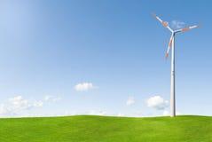 Illustration de moulin à vent photographie stock