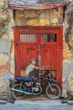Illustration de mur de Penang photos stock