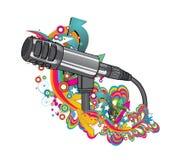 Illustration de musique Photos libres de droits