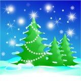 Illustration de Noël Photo libre de droits