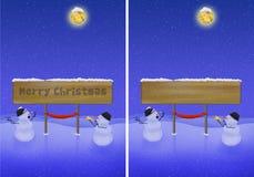 Illustration de Noël Photos stock