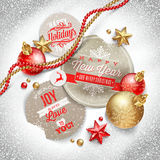 Illustration de Noël Image libre de droits