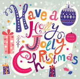 Illustration de Noël Photo stock