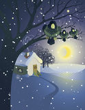 illustration de Noël Images libres de droits
