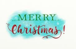 Illustration de Noël avec le texte illustration de vecteur