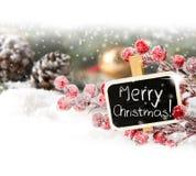 Illustration de Noël Branch Images libres de droits