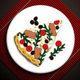 Illustration de nourriture Photo stock