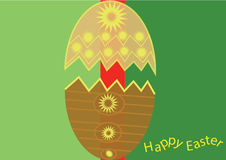 Illustration de Pâques d'impression Photos libres de droits