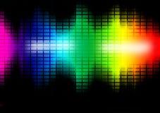 Illustration de palonnier de fréquence de musique illustration libre de droits