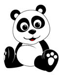 Illustration de panda Photo libre de droits