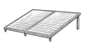 Illustration de panneau solaire, dessin, gravure, encre, schéma, vecteur illustration libre de droits