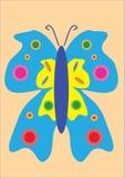 illustration de papillon Photos stock