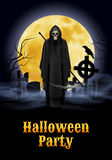 Illustration de partie de Halloween Photos libres de droits