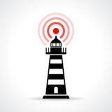 Illustration de phare Photos libres de droits