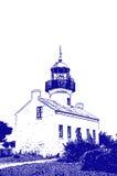Illustration de phare Photographie stock