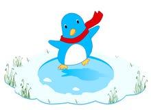 Illustration de pingouin de danse Photographie stock