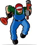 Illustration de plombier. Photos libres de droits