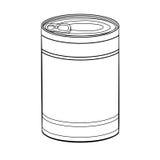 Illustration de Pouvoir-vecteur de nourriture de dessin de main illustration de vecteur