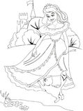 Illustration de Prancesa illustration de vecteur