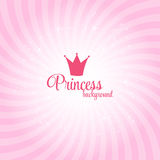 Illustration de princesse Abstract Background Vector illustration libre de droits
