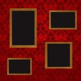 illustration de quatre trames illustration de vecteur