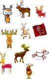 Illustration de renne Photos stock