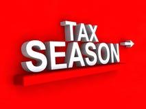 Illustration de saison d'impôts illustration stock
