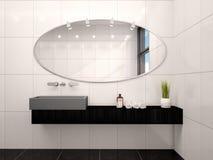 Illustration de salle de bains moderne Images libres de droits