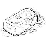 Illustration de savon et de bulles Photos libres de droits