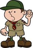Illustration de scout de garçon Photos stock