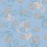 Illustration de Seamples de vecteur de fleur Photo libre de droits