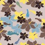 Illustration de Seamples de vecteur de fleur Images stock
