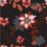 Illustration de Seamples de vecteur de fleur Photos stock