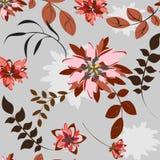 Illustration de Seamples de vecteur de fleur Image libre de droits