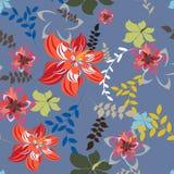 Illustration de Seamples de vecteur de fleur Photographie stock