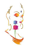 Illustration de seigneur Bouddha Photos libres de droits