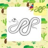Illustration de serpent illustration de vecteur