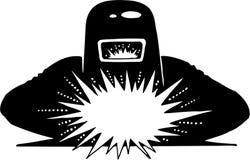 Illustration de soudure de vecteur illustration libre de droits