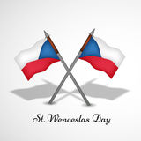 Illustration de St Wenceslas Day Background Photos stock