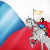 Illustration de St Wenceslas Day Background Image stock