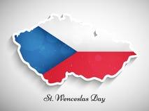 Illustration de St Wenceslas Day Background Photo libre de droits