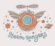 Illustration de Steampunk Image stock