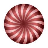 Illustration de sucrerie de cercle illustration libre de droits
