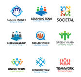 Illustration de Team Design de foules Image libre de droits