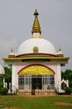 Illustration de temple bouddhiste, Népal photos stock