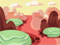 Illustration de terre douce de nourriture d'imagination Photographie stock