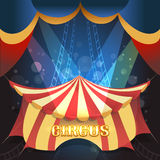 Illustration de thème de cirque illustration stock