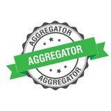 Illustration de timbre d'Aggregator Photos libres de droits